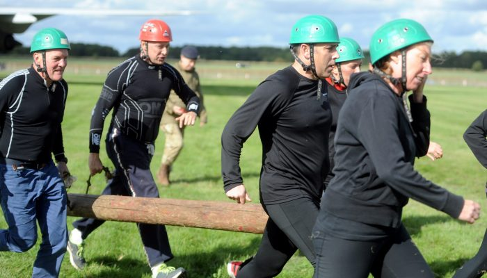Mini Assault Course (delivered by 170 (Infra Spa) Engineering Group)